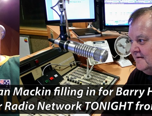 Dean Mackin filling in for Barry Hill from Midnight tonight on the Super Radio Network