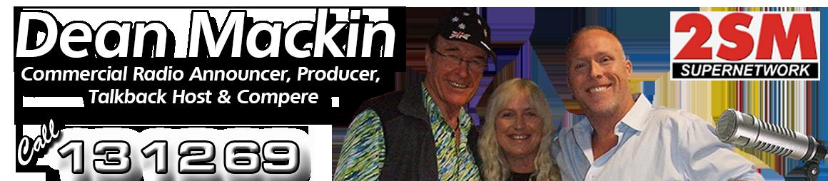 Dean Mackin – Super Radio Network Logo