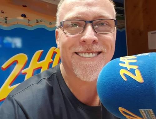 Dean Mackin back on-air across the 2SM Super Radio Network